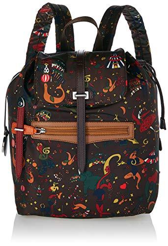 piero guidi Backpack, Zaino Donna, Marrone (Marrone (Cioccolato), 26.0x35.5x15.0 cm (W x H x L)