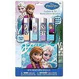 Disney Frozen ディズニーアナと雪の女王4パックリップバームリップクリーム. 並行輸入品