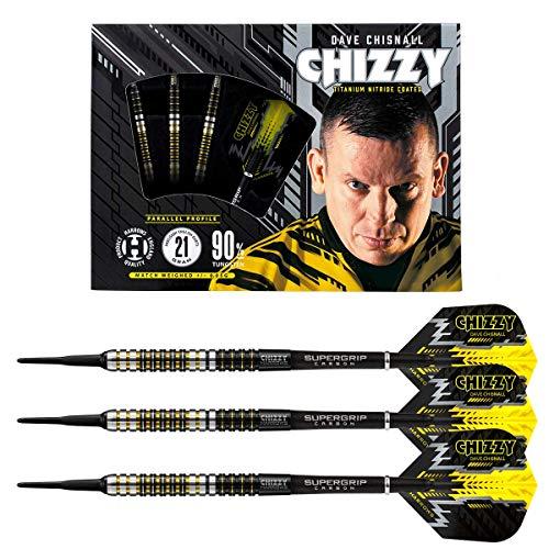 Harrows Soft Darts Dave Chisnall Chizzy 90% Tungsten Softtip Dart Softdart (18 gr)