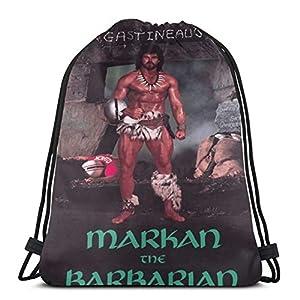 Mark Gastineau Markan The Pullover Hoodie Drawstg Bag Sports Fitness Bag Travel Bag Gift Bag