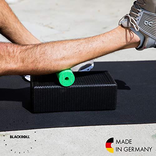 Blackroll Selbstmassagerolle Mini, Schwarz, BRBMBKSAC - 4