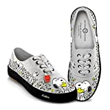 Peanuts Happiness is Friendship Women's Shoes with Peanuts Characters Snoopy and Woodstock: 9.5 M US Women