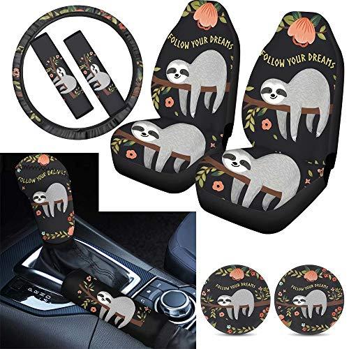 Sloth Car Decor Pack