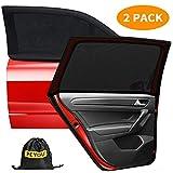 PEYOU Car Window Sun Shade,【2020 Upgrade Version】 Breathable Mesh Car Rear...