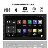 Tangxi Android 8.1 Car Radio Stereo 2 DIN 7 Pulgadas Pantalla táctil Navegación GPS con Bluetooth 1G RAM + 16G ROM, Soporte WiFi Bluetooth SWC, Imagen de inversión