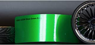 3M 1080 Gloss Green Envy | G336 | Vinyl CAR WRAP Film (5ft x 1ft (5 Sq/ft)) w/Free-Style-It Pro-Wrapping Glove