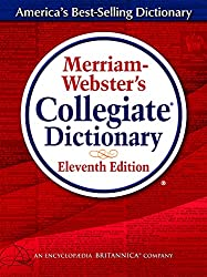 professional Merriam-Webster Collegiate Dictionary, 11th Edition, Hardcover, Indexed, 2020 Copyright
