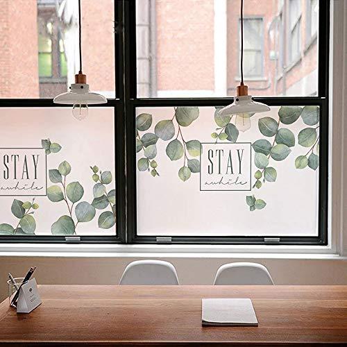 YSHUO raamstickers op maat gemaakte raamfolie decoratieve glazen stickers statische Cling privacy ondoorzichtige schuifdeur badkamer kantoor