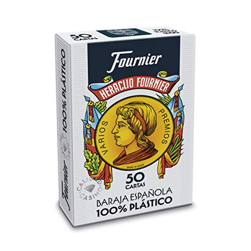 Fournier Plastic Spanish Playing Cards