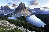 Berg Mountain Landschaft Gebirge XXL Wandbild Foto Poster