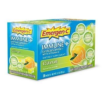 Emergen-C Immune+ Citrus 30 ea