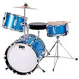 Performance Percussion PP101BL PP Drums Kinder Schlagzeug-Set (3 Stücke)...