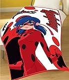 Miraculous Ladybug Kids Fleece Blanket 39' x 59' Super Soft Durable Throw Blanket Miraculous Lady Fleece Throw Blanket Character Fleece Blanket Throw