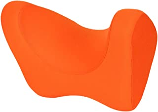Travel Pillows Travel Pillow Memory Cotton Car U-Shaped Pillow Portable Neck Pillow H-Shaped Pillow Foldable (Color : Orange)