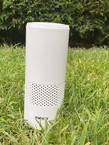 INOVIX Tres en uno, Filtro Micro Purificador HEPA y Produce Iones Negativos Micro Purificador de Aire Seguro Puede Eliminar el 99.97% de Polvo, Moho y Polen en.