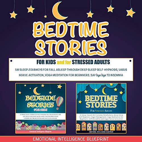 Bedtime Stories for Kids and for Stressed Adults cover art