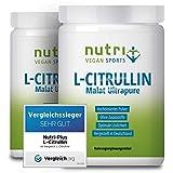 TESTSIEGER L-Citrullin 2019 - L-CITRULLINE MALAT Pulver 1kg Vegan - höchste Dosierung & Reinheit - Bodybuilding Fitness - Malate DL 2:1 - hergestellt in Deutschland - 1000g