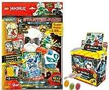 Blue Ocean Lego Ninjago Serie 5 Next Level -1x Starter + 1 Display 50 Booster Tüten Trading Cards zusätzlich erhalten Sie 1 x Fruchtmix Sticker-und-co Bonbon