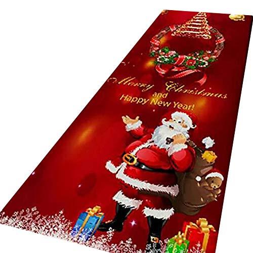 Felpudos de Bienvenida de Feliz Navidad Felpudos de Bienvenida de Feliz Navidad Alfombras de Interior para el hogar Decoración Hogar y jardín Decoración del hogar