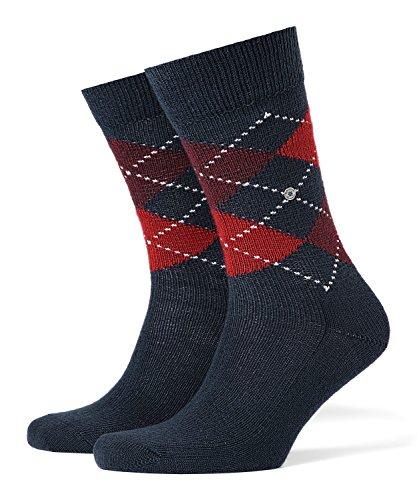 BURLINGTON Damen Matt Deluxe 30 DEN W TI Socken, Blickdicht, Stahlblau, 40-46 (UK 6.5-11 Ι US 7.5-12)