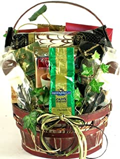 Coffee Break Gourmet Coffee & Treats Gift Basket   Office Gift Basket or Birthday Gift Basket for the Coffee Lover