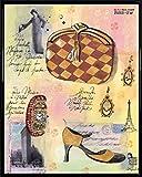 1art1 Haute-Couture Poster Kunstdruck und Kunststoff-Rahmen