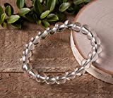Jet Crystal Bracelet Negative Ions Provider Chakra Stretch Balancing Positive Energy Aura Gift