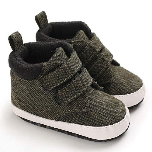 xingxing Otoño Niño Niña Tela de Algodón Primer Caminante Zapatos de Bebé Calientos de Invierno Zapatos de Suela Suave antideslizante Bebé Zapatilla de Deporte de Bebé (Edad de 6 a 12 M, Color: A2)