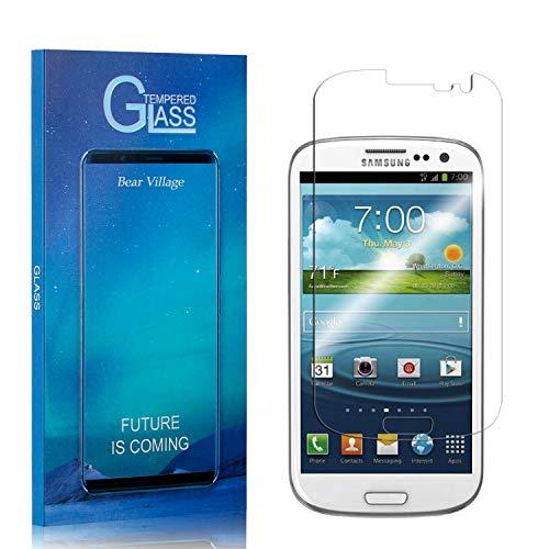 Bear Village® Vetro Temperato per Galaxy S3, Nessuna Bolla, 9H Durezza, 3D Touch Compatible Pellicola Protettiva in Vetro Temperato per Samsung Galaxy S3, 1 Pezzi