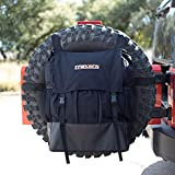 Spare Tire Bag & Truck Organizer - Heavy Duty Spare Tire Trash Bag | Camping Gear for Trucks | Firewood Bag | SUV Trunk Organizer & Truck Cargo Bag | Storage for Off Road Recovery Gear