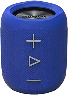 BlueAnt X1 Portable Bluetooth Speaker, Blue (X1-BL)