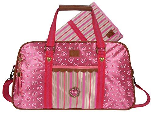 31 x 39 x 14 cm rosa Lief 440-6156 Wickeltasche Sprinkles