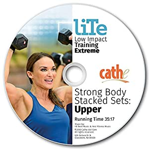 Cathe Friedrich LITE Strong Body Stacked Sets: Upper Body Workout DVD
