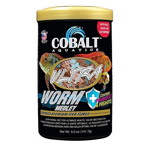 Cobalt Aquatics Ultra Worm Medley, 5 oz