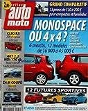 AUTO MOTO [No 135] du 01/07/2006 - grand comparatif - 13 pneus - monospace ou 4x4 - 6...