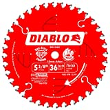 Freud D0536X Diablo 5-3/8-Inch 36 Tooth ATB Finish Cordless Trim Saw Blade