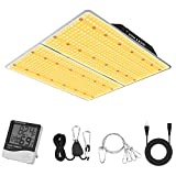 Phlizon PL-4000W Plant LED Grow Light Used with Samsung LM301B LEDs Dimmable Full Spectrum Grow Lamp for Indoor Plants Waterproof Led Growing Light for Hydroponics for 5x5ft Coverage