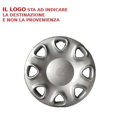 Rivets 378.14 Lot DE 4 Coupes Copponi Lancia Delta 16 V 98 > Cache Cercles Logo enjoliveurs Coupe Roues Voiture Farad