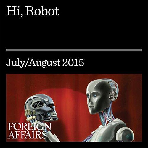 Hi, Robot audiobook cover art