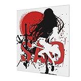 Sword Art Online 3D HD Impresión de pared Arte abstracto, pintura al óleo sin marco, decoración del hogar, lienzo moderno, pintura de la pared (20 x 24 pulgadas)