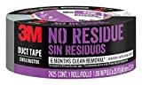 3M 2425 Residue Duct Tape, 1.88 inches by 25 Yards, 2425-HD