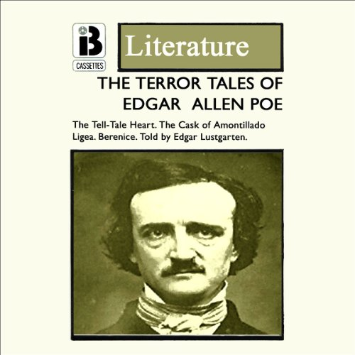 The Terror Tales of Edgar Allan Poe (Dramatised) audiobook cover art