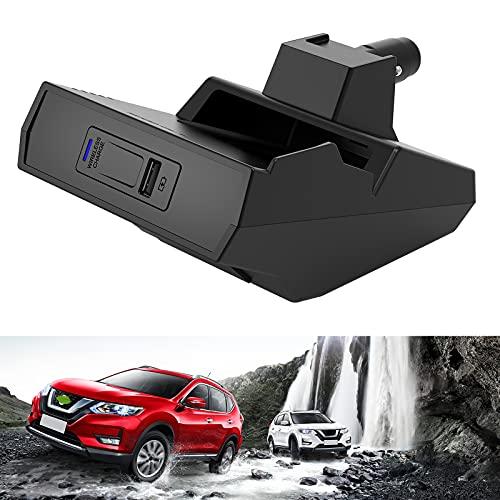 Cargador de Coche Inalámbrico para Nissan (2014-2020) Rogue Todos Los Modelos, Cargador de Teléfono de Carga Rápida de 15 W con USB QC3.0 para iPhone 12 MAX Mini 11 / XS MAX / XR / 8, Galaxy S20 / S