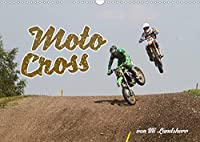Moto Cross (Wandkalender 2022 DIN A3 quer): Motocross Motorraeder am Start (Monatskalender, 14 Seiten )