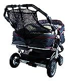 Sunnybaby 850120019Carrito para bebé y la compra con Red, para mellizos, Negro