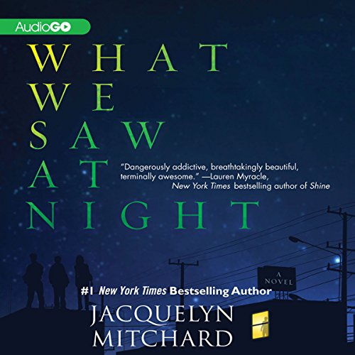 What We Saw at Night audiobook cover art