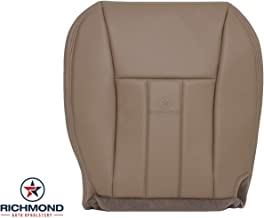 Richmond Auto Upholstery: Compatible with 1999 2000 2001 Jeep Cherokee 4X4 2WD - Driver Side Bottom Replacement Genuine Leather Seat Cover, Tan