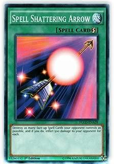 Yu-Gi-Oh! - Spell Shattering Arrow (YGLD-ENA28) - Yugi's Legendary Decks - 1st Edition - Common