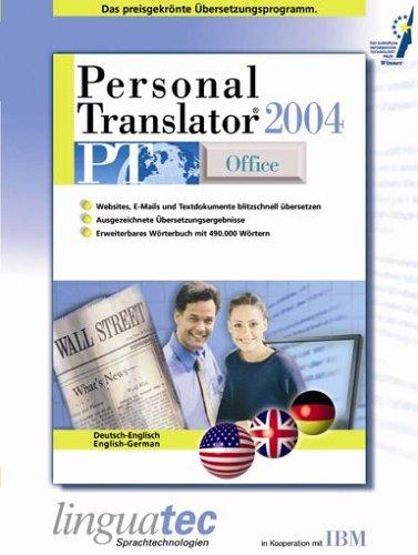 Personal Translator PT 2004 Office Deutsch/Englisch