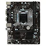XCJ Placa Base Gaming ATX LGA 1151 FIT para Fit For MSI B150M Pro-Vd Placa Base Ajuste para Fit For DDR4 32GB PCI-E 3.0 DVI SATA III Core I7 / I5 / I5 De Escritorio B150 Planeta 1151 32GB Placa Madre